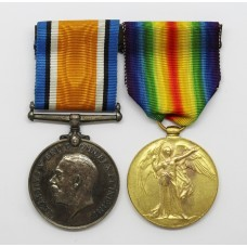WW1 British War & Victory Medal Pair - Pte. A. Smith, 5th Canadian Infantry - Twice Wounded