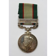 1936 India General Service Medal (Clasp - North West Frontier 1936-37) - Sgln. T.A. Aisthorpe, Royal Signals