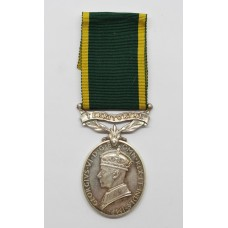 George VI Territorial Efficiency Medal - Sjt. A.S.B. Fursland, Royal Army Medical Corps