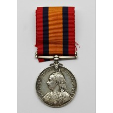 Queen's Mediterranean Medal - Pte. E. Belk, West Yorkshire Regiment