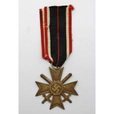 German WW2 War Merit Cross - 2nd Class (with Swords)