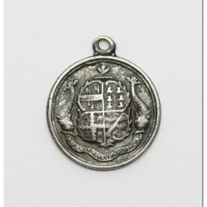Ilfracombe (North Devon) South Africa Boer War Hallmarked Silver Tribute Medal