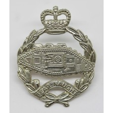 Royal Tank Regiment Cap Badge - Queen's Crown