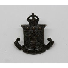 Indian Army Ordnance Corps Officer's Service Dress Collar Badge - King's Crown