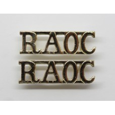 Pair of Royal Army Ordnance Corps (R.A.O.C.) Anodised (Staybrite)