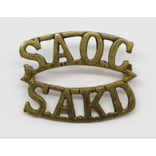 South African Army Ordnance Corps (S.A.O.C./S.A.K.D.) Shoulder Ti