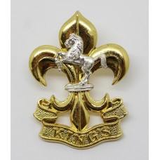 The Kings Regiment Cap Badge