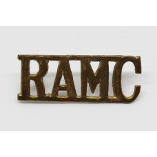 Royal Army Medical Corps (R.A.M.C.) Shoulder Title