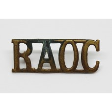 Royal Army Ordinance Corps (R.A.O.C.) Shoulder Title
