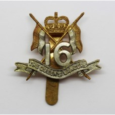 16th/5th The Queen's Lancers Beret Badge - Queen's Crown