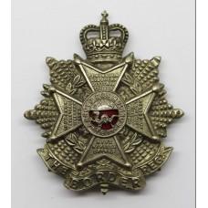 Border Regiment Cap Badge - Queen's Crown