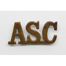 Army Service Corps (ASC) Shoulder Title