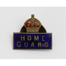 WW2 Home Guard Enamelled Lapel Badge