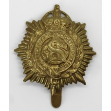 Army Service Corps (A.S.C.) WW1 Economy Cap Badge (Non Voided Centre).