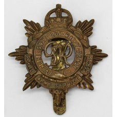 George VI Royal Army Service Corps (R.A.S.C.) Cap Badge - King's Crown