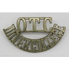Dover College O.T.C. (OTC/DOVER COLLEGE) Shoulder Title
