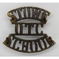 Stowe School O.T.C. (STOWE/O.T.C./SCHOOL) Shoulder Title