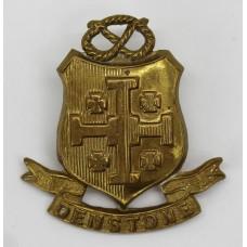Denstone College O.T.C. Cap Badge