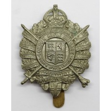 5th City of London Bn. (London Rifle Brigade) London Regiment Cap Badge - King's Crown