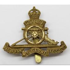 Royal Artillery Beret Badge - King's Crown
