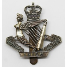 North Irish Horse Cap Badge - Queen's Crown