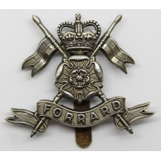 Queen's Own Yorkshire Yeomanry Cap Badge - Queen's Crown