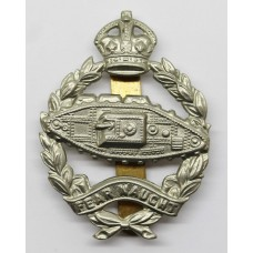 Royal Tank Regiment Cap Badge - King's Crown (With Slider)