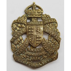 2nd King Edward's Horse Cap Badge - King's Crown