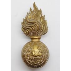 Lancashire Fusiliers Fur Cap Grenade Badge