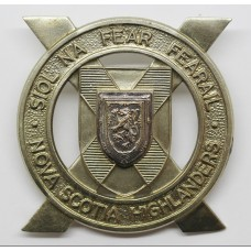 Canadian Nova Scotia Highlanders Cap Badge