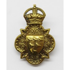Sussex Imperial Yeomanry Cap Badge - King's Crown