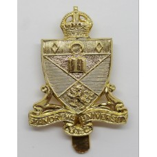 St. Andrews University U.T.C. Anodised (Staybrite) Cap Badge - Ki