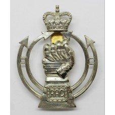 Royal Armoured Corps (R.A.C.) Cap Badge - Queen's Crown