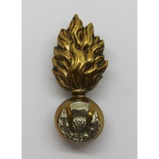 Royal Scots Fusiliers Officer's Collar Badge