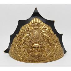 Victorian 17th (Duke of Cambridge's Own) Lancers Czapka Cap Plate