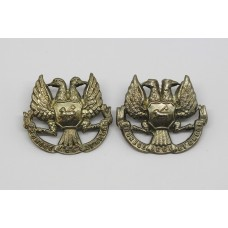 Pair of 4th (Perthshire) Volunteer Bn. Black Watch (Royal HIghlanders) Collar Badges