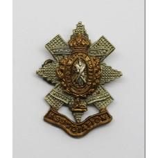 Black Watch (Royal Highlanders) Association Lapel Badge - King's