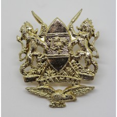 Kenya Air Force Anodised (Staybrite) Cap Badge