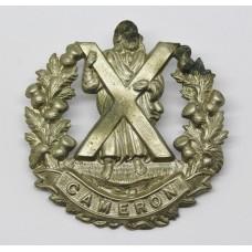 Queen's Own Cameron Highlanders Cap Badge
