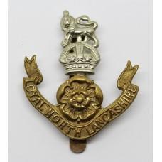 Loyal North Lancashire Regiment Cap Badge - King's Crown