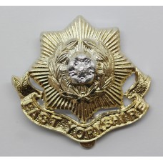 East Yorkshire Regiment Anodised (Staybrite) Cap Badge