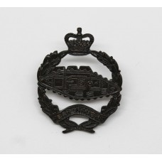 Royal Tank Regiment Officer's Service Dress Collar Badge - Queen's Crown