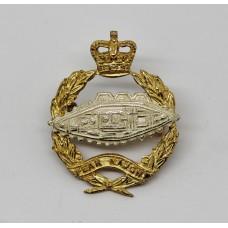Royal Tank Regiment Officer's Dress Collar Badge - Queen's Crown