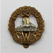 South Wales Borderers Beret Badge (Smaller Size)