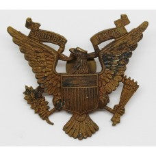 WW2 1st American Squadron Home Guard Cap Badge