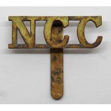 Non Combatant Corps (N.C.C.) Cap Badge