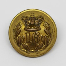 Victorian Pre 1881 16th Regiment of Foot (Bedfordshire) Officer's Button (Large)