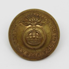 Royal Dublin Fusiliers Officer's Button (Large)