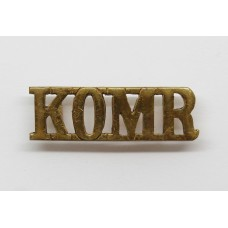 King's Own Malta Regiment (K.O.M.R.) Shoulder Title