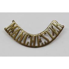 Manchester Regiment (MANCHESTER) Shoulder Title